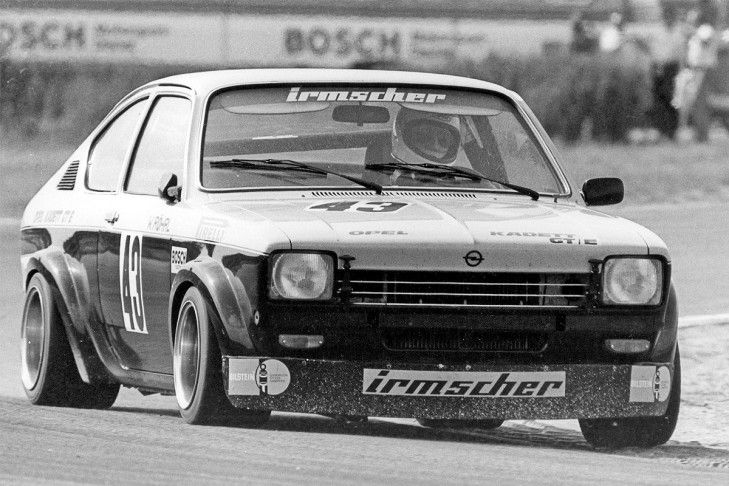 Opel kadett c gt e was a very popular stock car with many for Garage opel melle