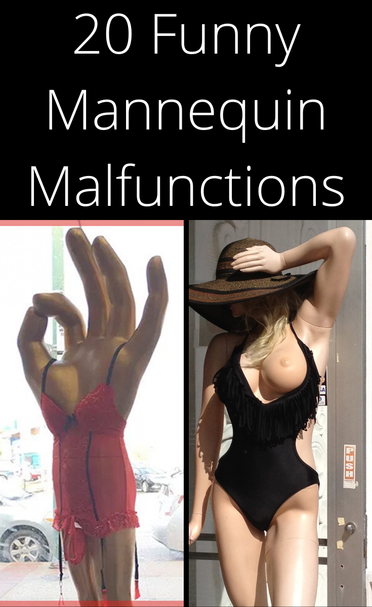 20 Funny Mannequin Malfunctions Memories, Funny, Jokes