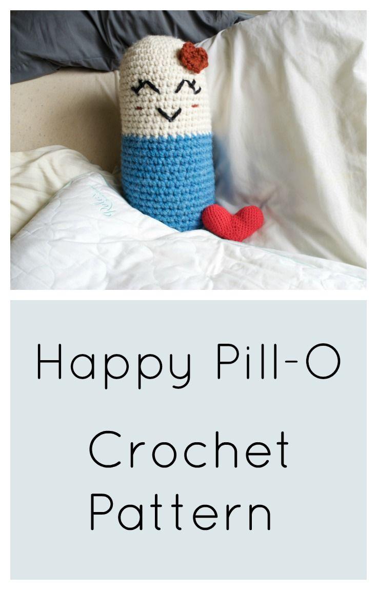 Happy Pill-O | crochet | Pinterest | Llaveros crochet, Llaveros y Tejido