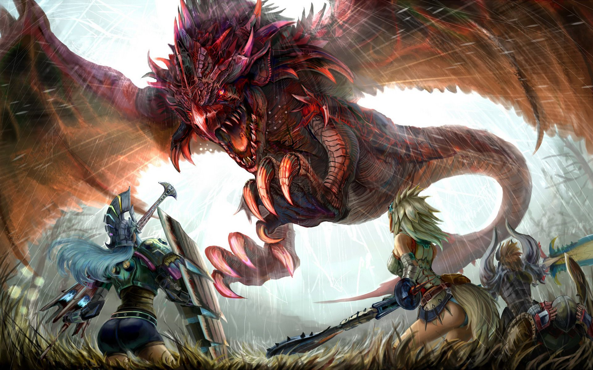 Download Monster Hunter Wallpaper High Definition For Free Wallpaper Monodomo Monster Hunter Monster Hunter Art Monster Hunter World Wallpaper