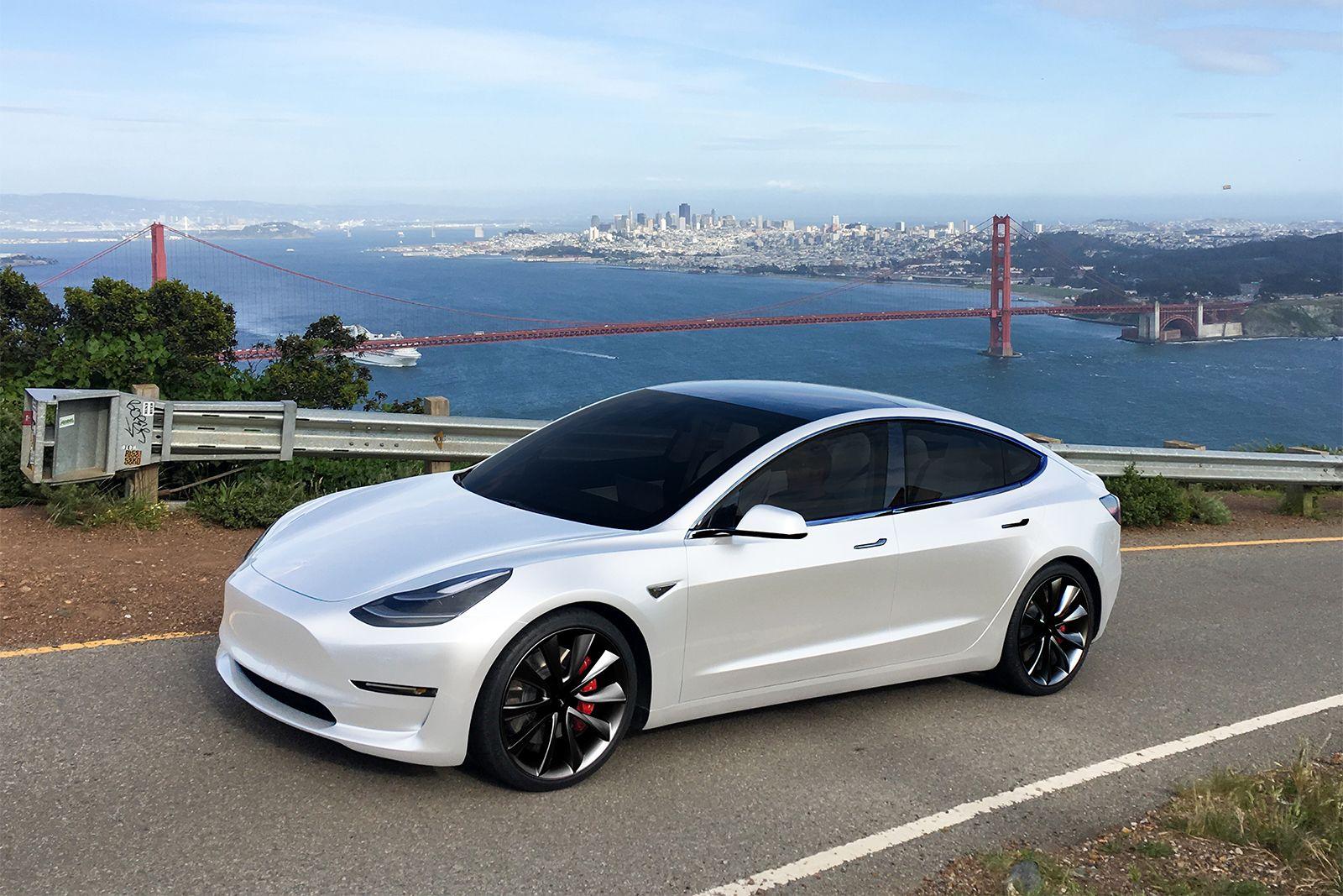 (Tesla Model 3) (35K) Tesla model, Electric cars, Tesla car