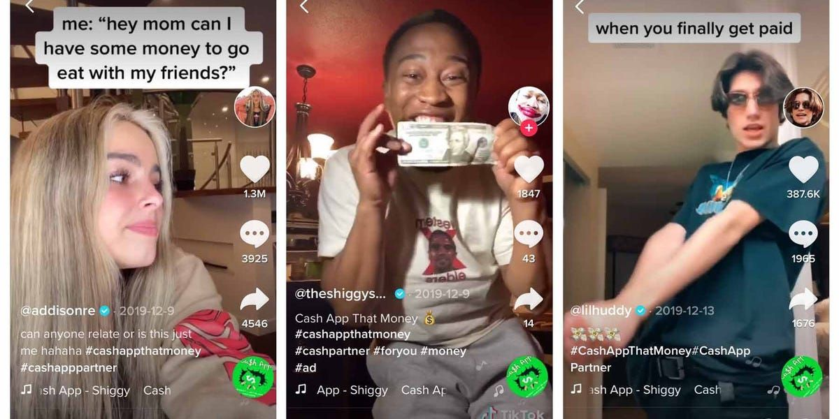How Cash App Went Viral On Tiktok By Leveraging An Original Song And Hiring Influencers Who It Advised To Make Fun Of How Broke You Are Original Song Songs Influencer Marketing