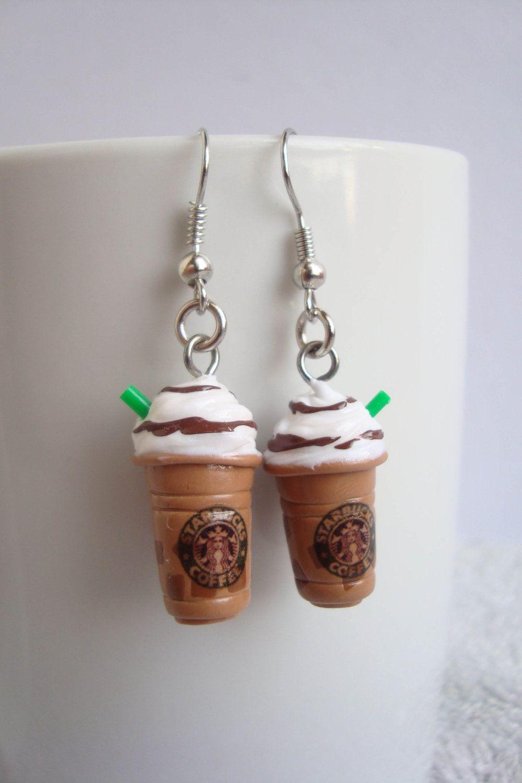 =D coffe jelly frappe dangling. $7.00, via Etsy.