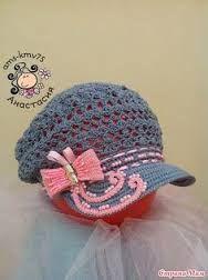 Výsledek obrázku pro sombrero del verano de ganchillo con el pico