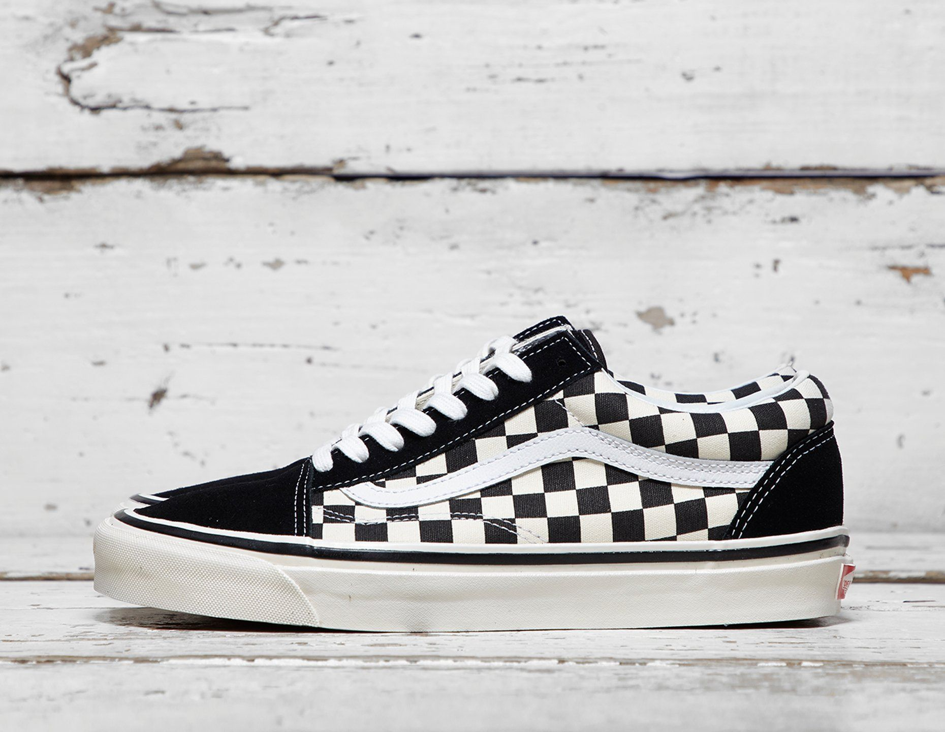 Vans Anaheim Old Skool Checkerboard find out more on