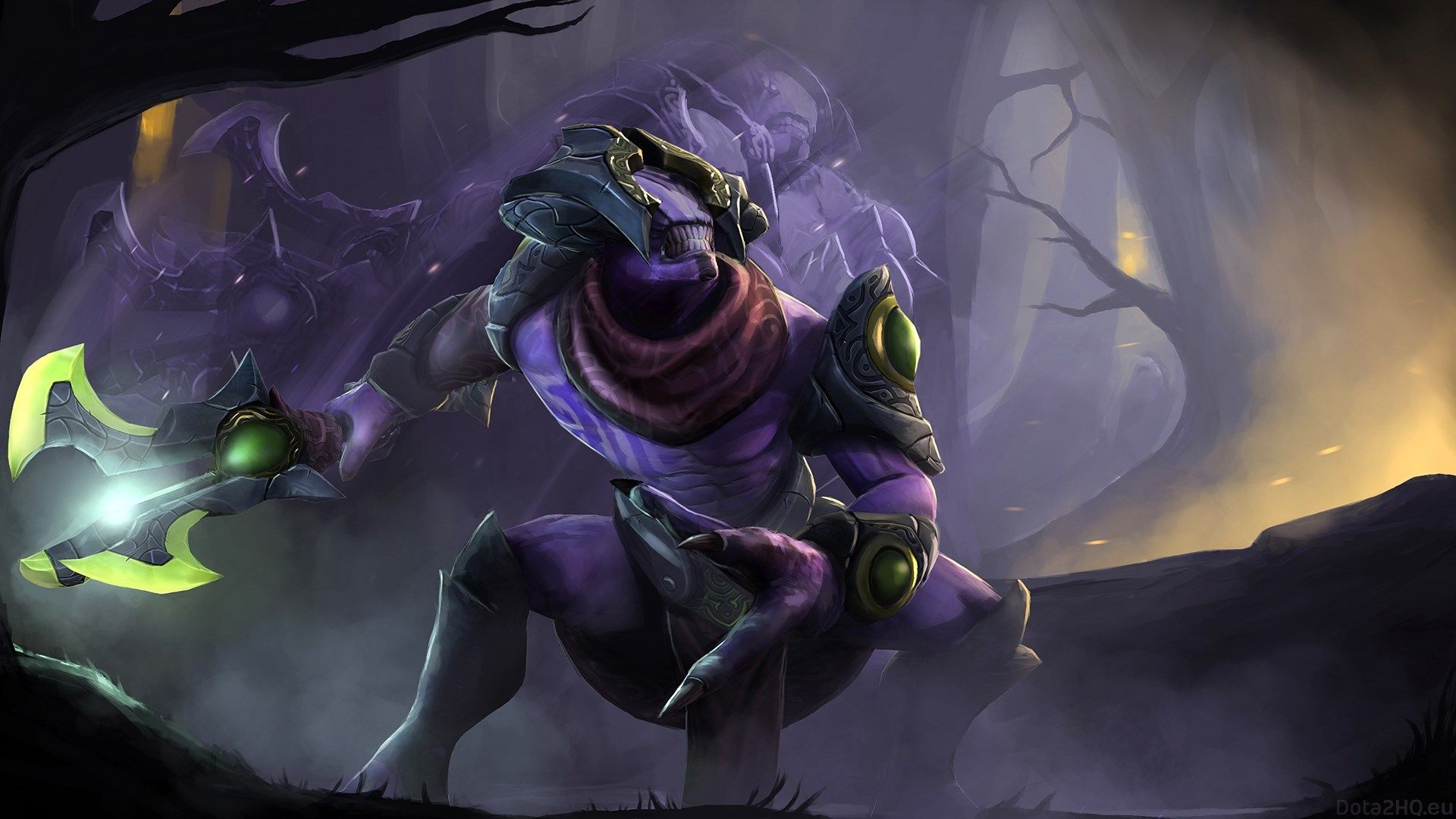 1920x1080 Faceless Void Dota 2 Image Concept Art Characters Dota 2 Defense Of The Ancients