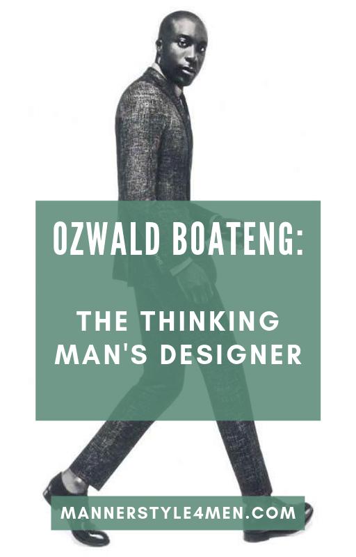 How To Dress Like A True Fashion Icon Free Guide Thinking Man Ozwald Boateng Fashion Advice