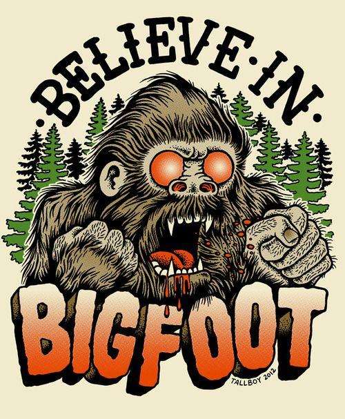 Tallboyart Bigfoot Bigfoot Bigfoot Sasquatch