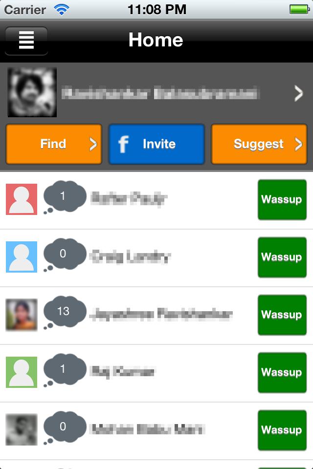 Wassup (iPhone) App, Itunes, My love