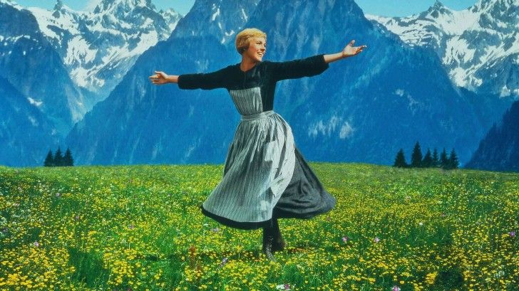 Sound Of Music Dancing On The Field Hd Wallpaper Sound Of Music Characters Sound Of Music Lds Movies