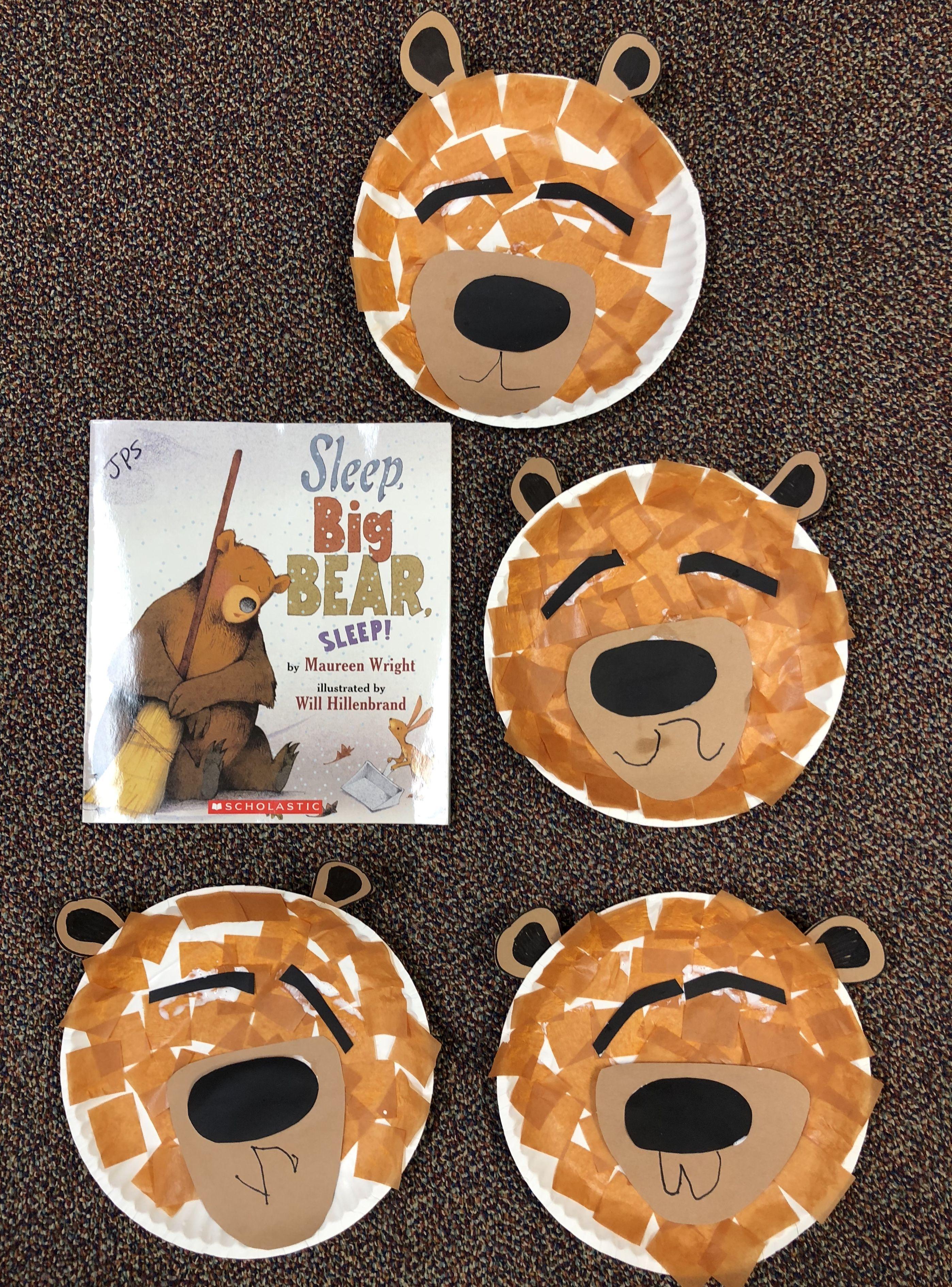 Bear Unit Hibernation Unit Sleep Big Bear Sleep Paper