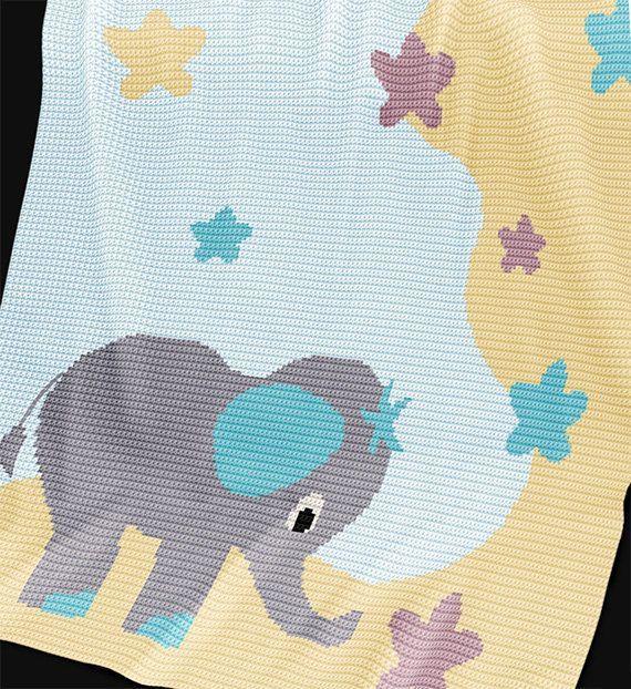 Resultado de imagen para mantas bebe crochet patrones | Mantillas ...