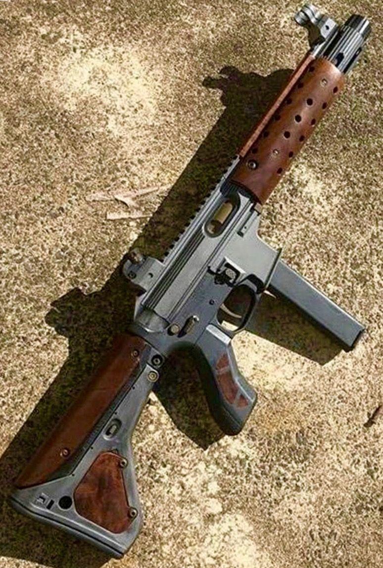 ar 15 9mm w