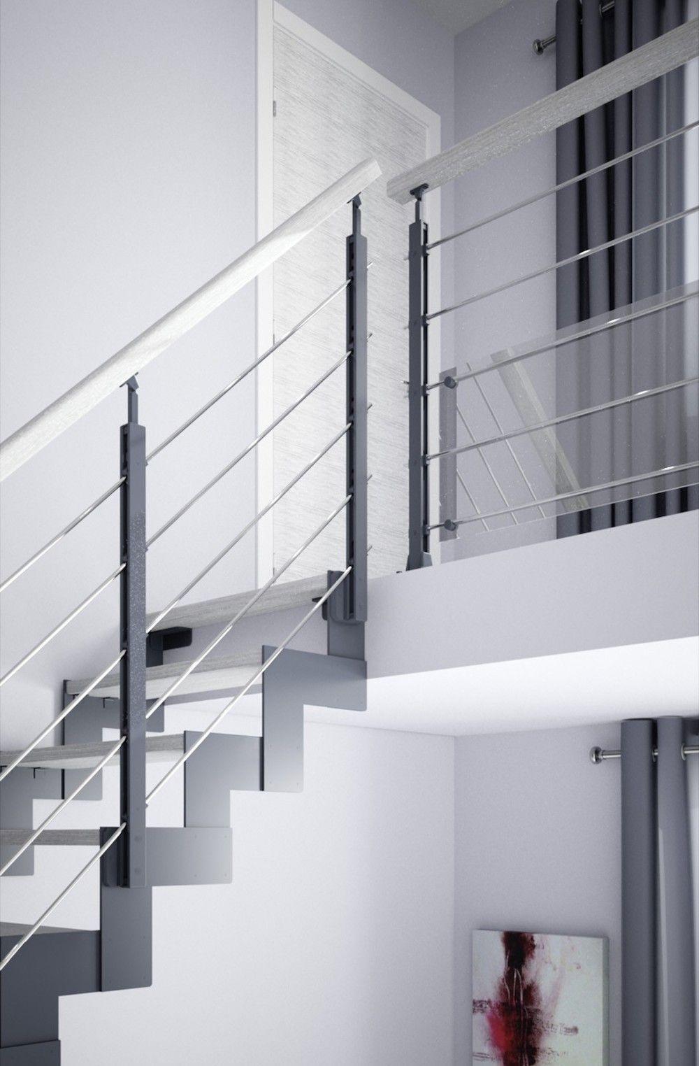 Balustrade En Acier Epure Steel Balustrade Interior Railings House Architecture Design