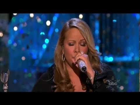 mariah carey o holy night live abc christmas special playl