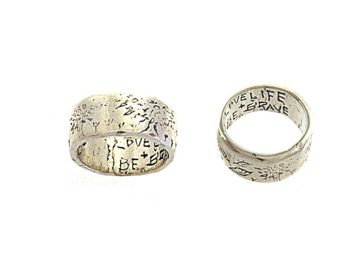 Love Life Be Brave Ring Jes Maharry Jewelry Wish List Rings
