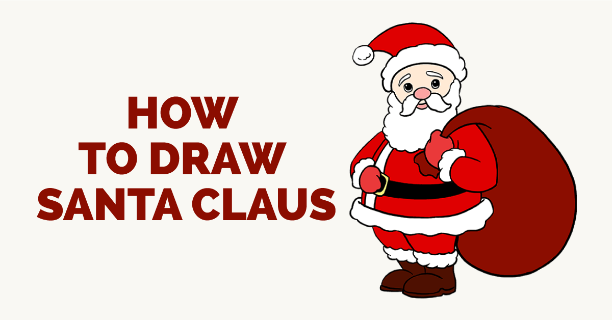 How To Draw Santa Claus In A Few Easy Steps Deco How To Draw