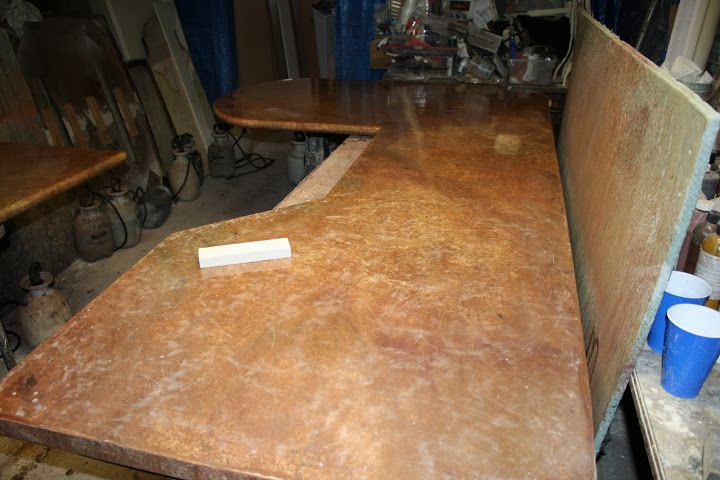 Custom counter top built for contractor client - Andrea 727-320 - contractor estimate