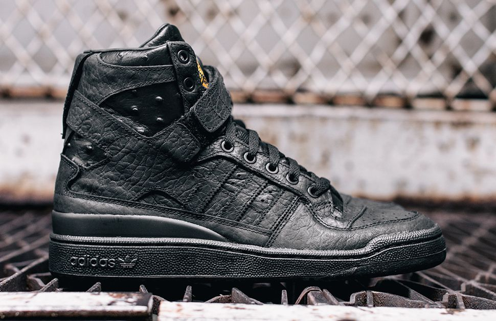 "adidas Originals Forum Hi ""Black Ostrich"""
