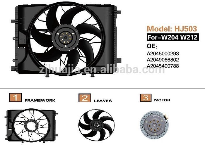 Electric Motor Cooling Fan For Oe A2045000293 A2049066802 A2045400788 A2049066802 Cooling Fan Electric Motor Electricity