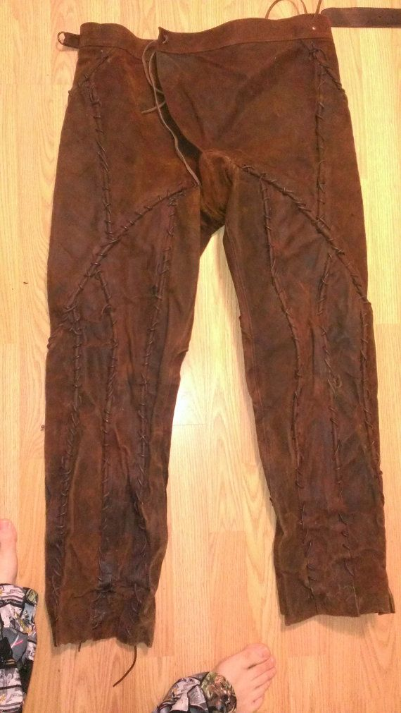 scrap leather pants pirate warrior cosplay larp by