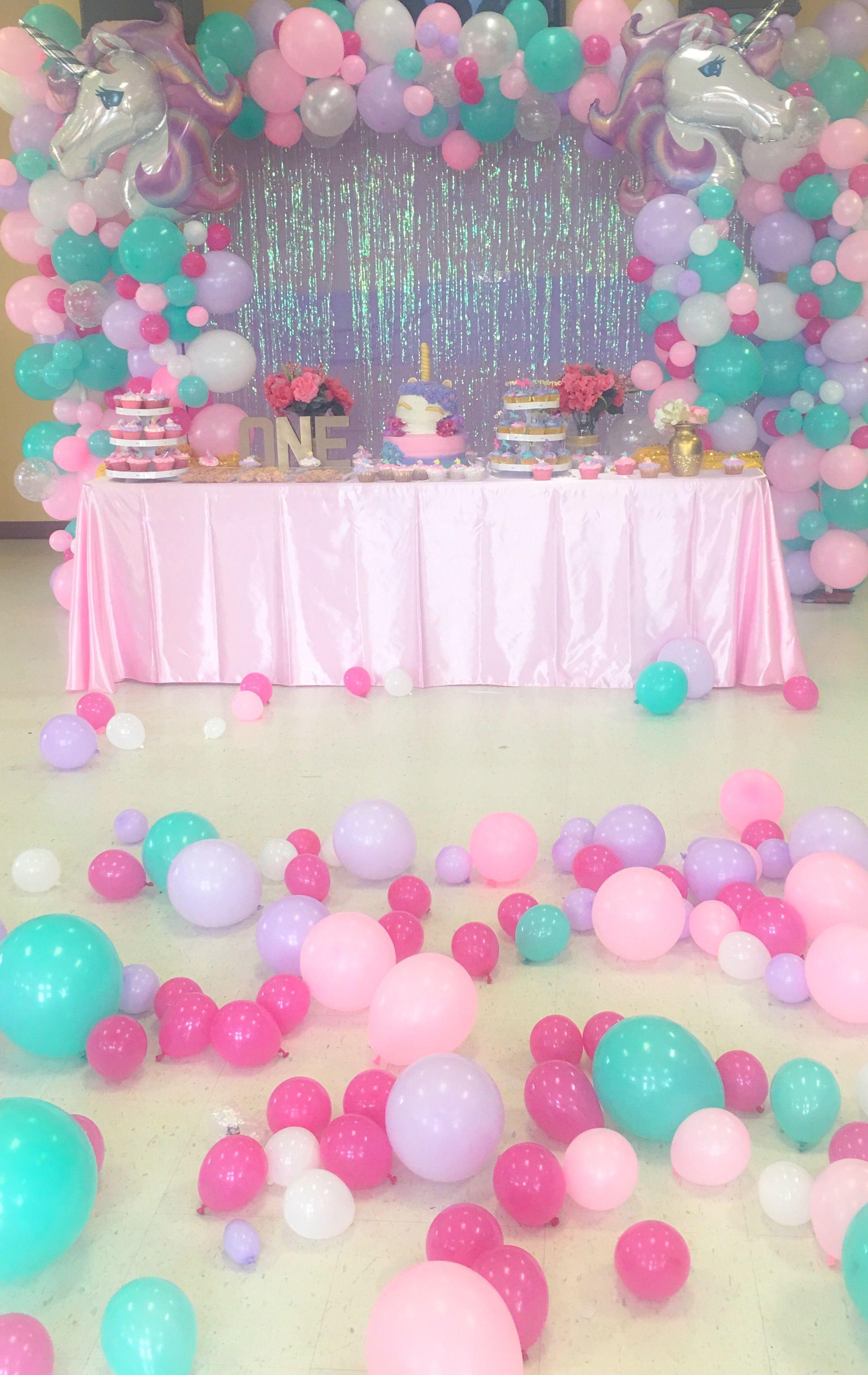 Unicorn party unicornio pinterest contar unicornio - Bombas para decorar ...