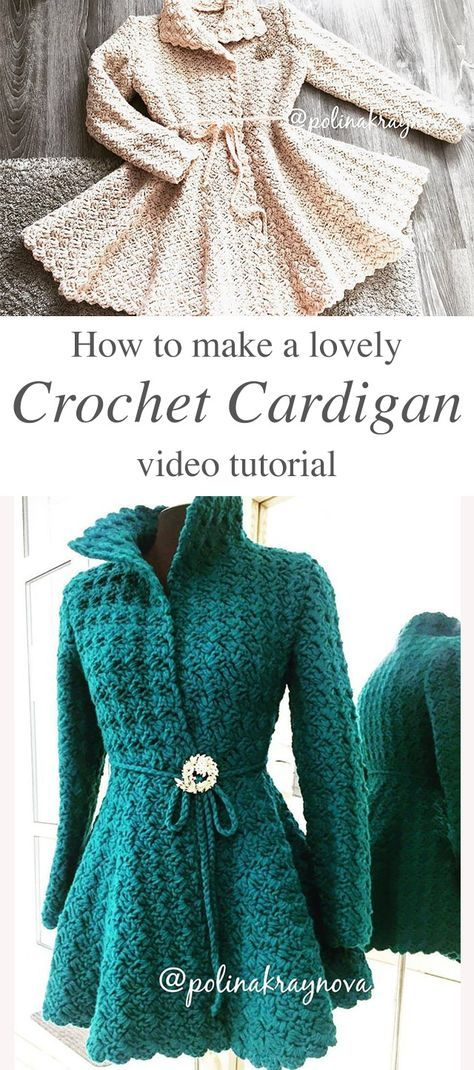Lovely Crochet Cardigan Anyone Can Make | CrochetBeja