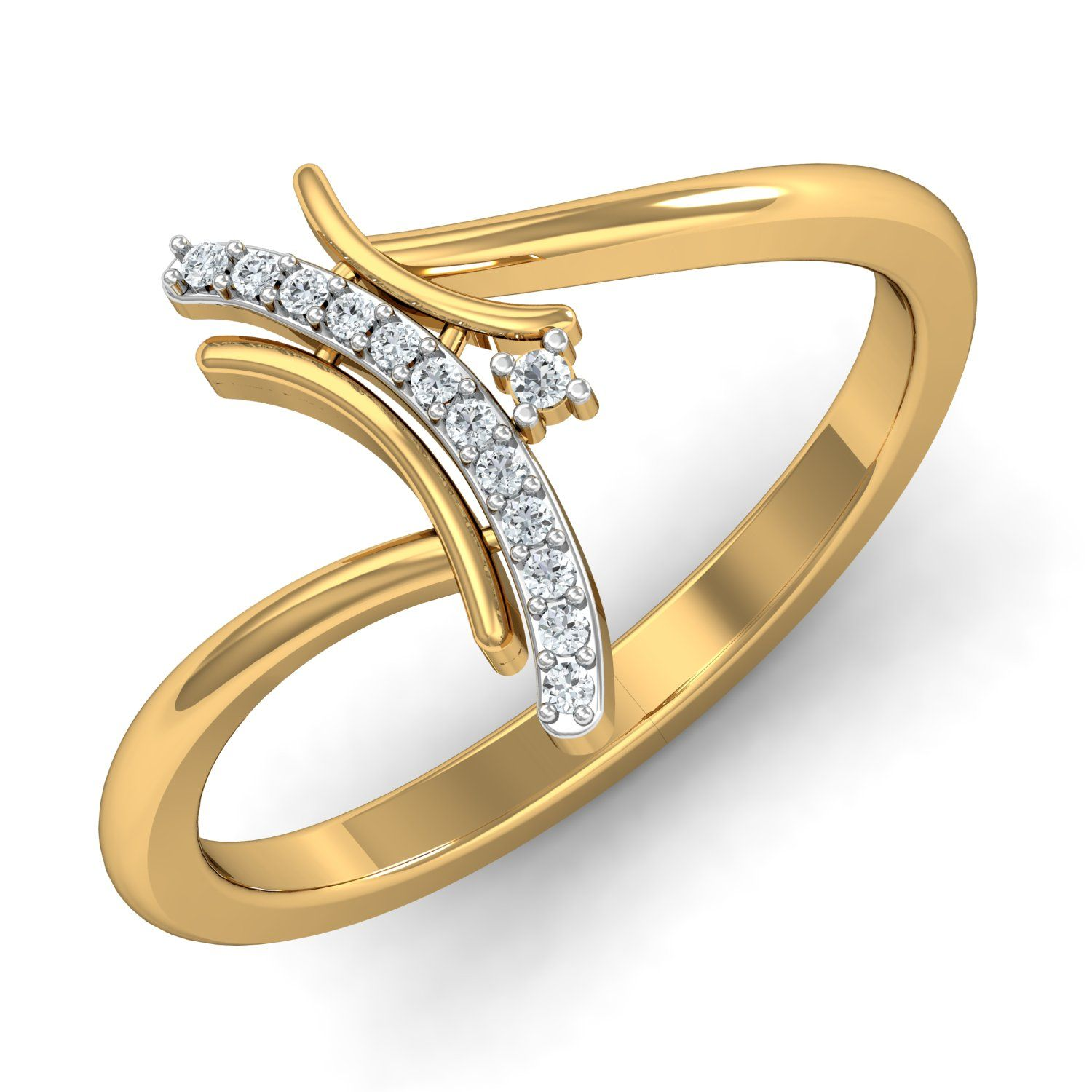 Ladies Diamond Ring 0 07 Ct Real Certified Solid Gold Workwear In 2020 Diamond Anniversary Rings Best Diamond Rings Gold Finger Rings