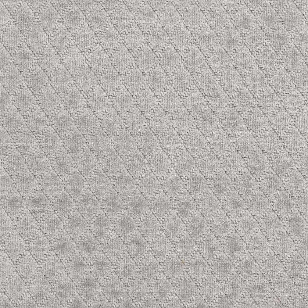 A920 Light Grey Diamond Sched Velvet