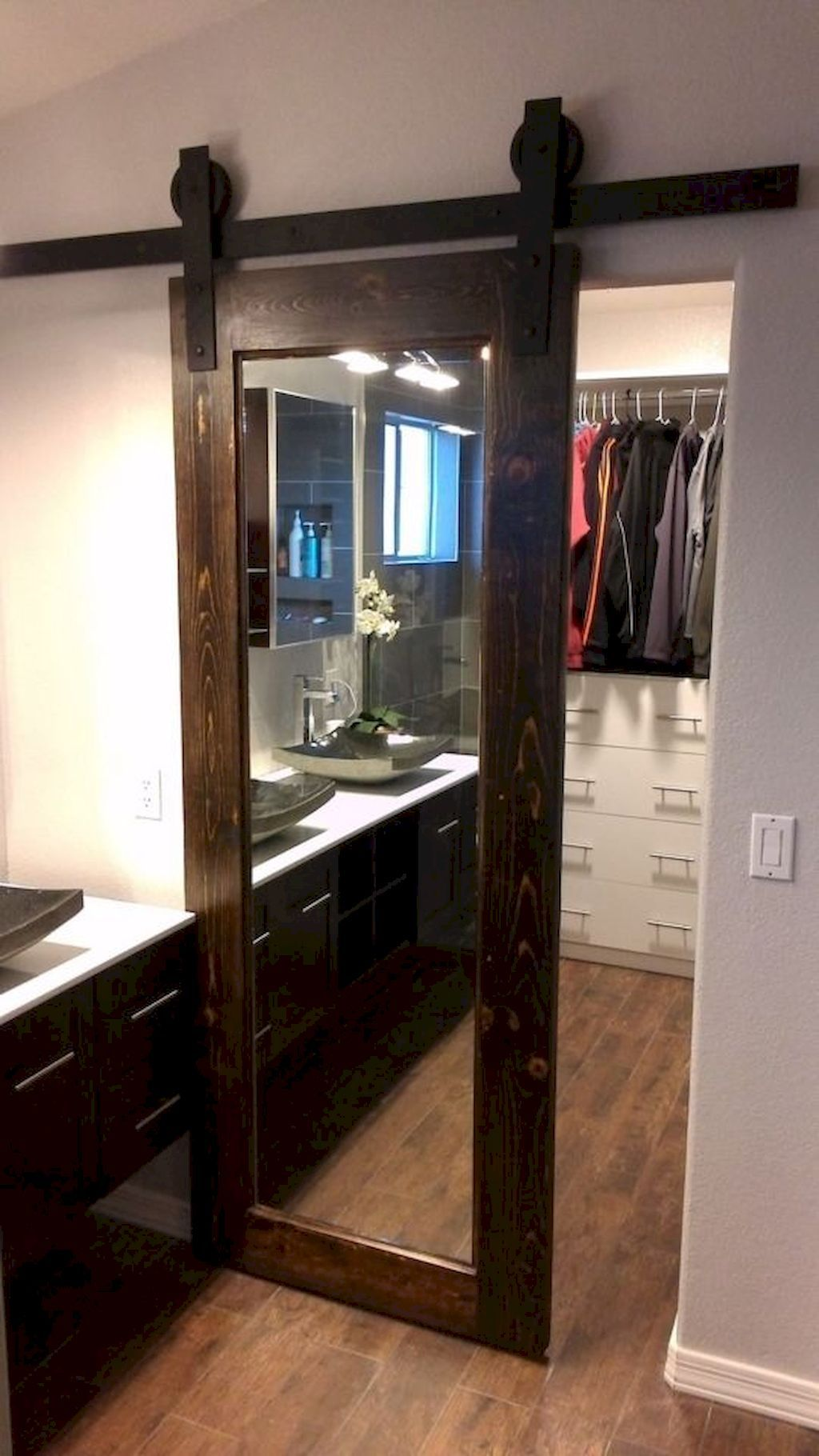 Miraculous  Closet Door Concepts That Add Model To Your Bed room images