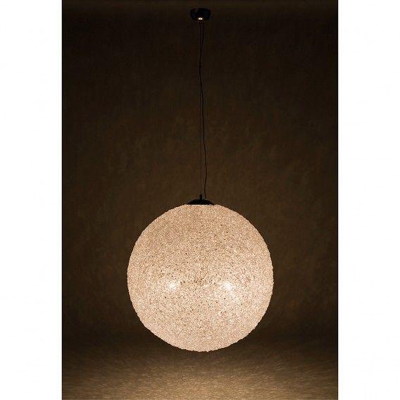 Hanglamp Nido - acryl/chroom | home24.nl