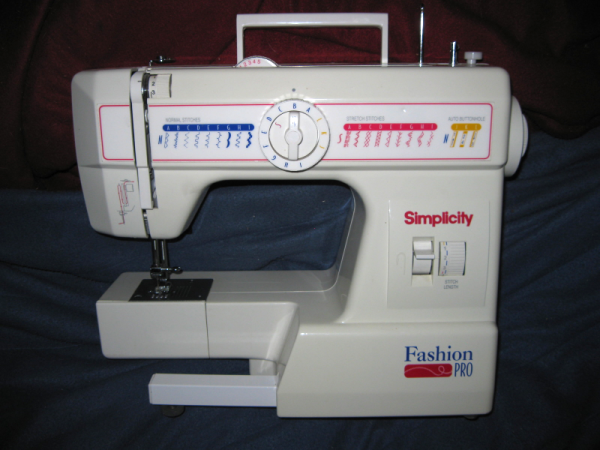 Simplicity Fashion Pro My Everyday Sewing Machine