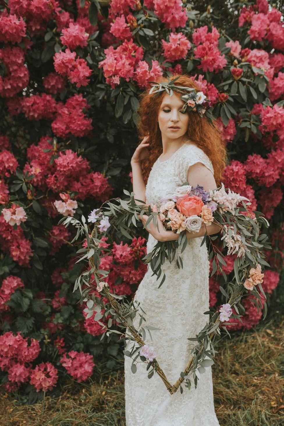 Verträumte Brautkleider-Party im romantischen Garten MARIE ...