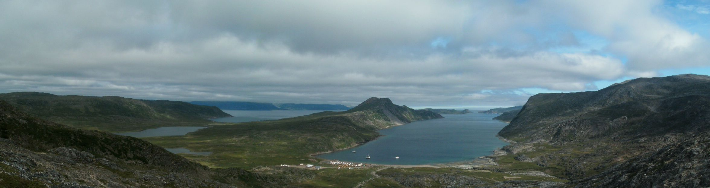 Overlooking Base Camp - Torngats, Labrador (Photo: Augustus Pike 2011)