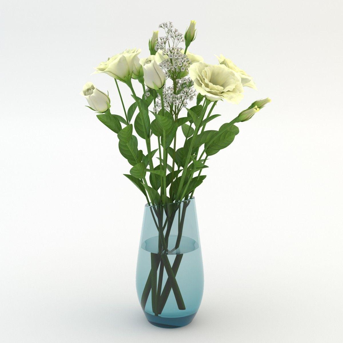 3d Model Bouquets Vase 03 Vase 3d Model Sketchup Model