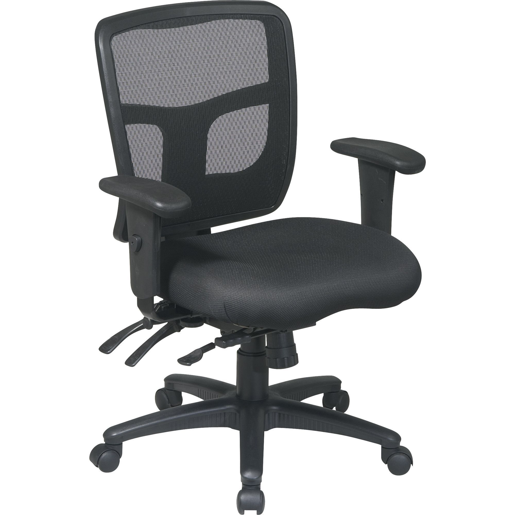 Pro Line II Deluxe Adjustable Air Grid Back Ergonomic fice Chair