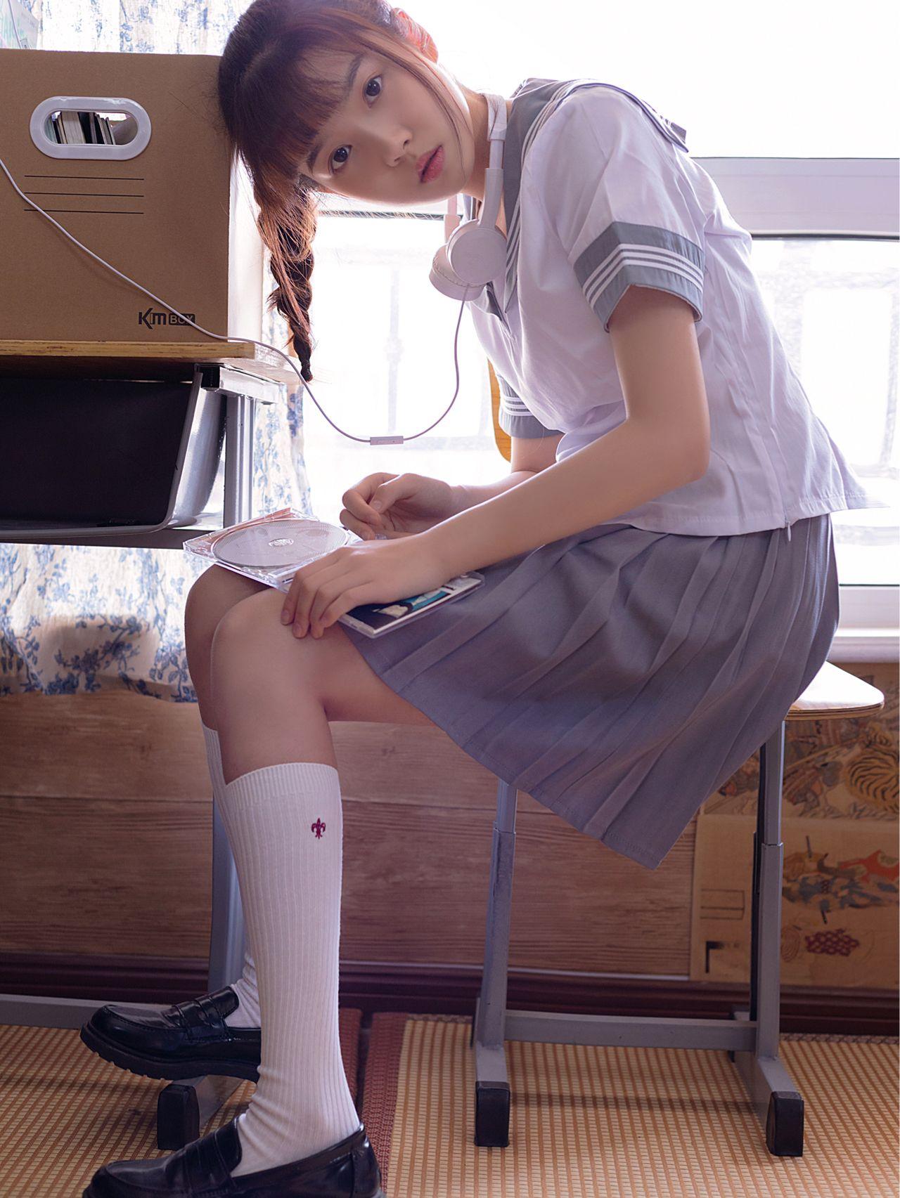 水手服美少女聽絕版CD音樂💽