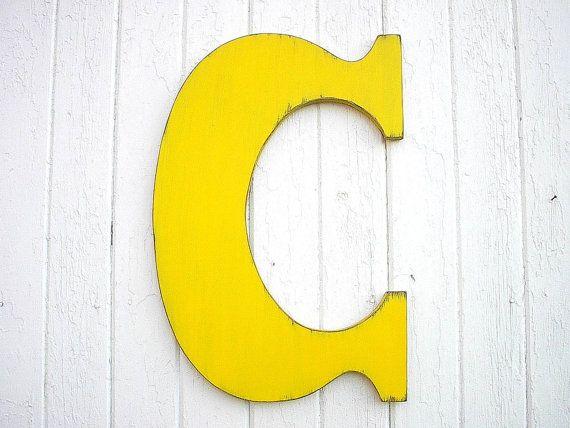 Wooden Letters C 24\