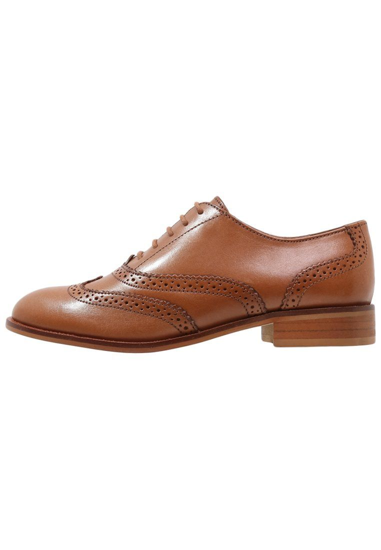 mint&berry Lace-ups - cognac for with free delivery at Zalando