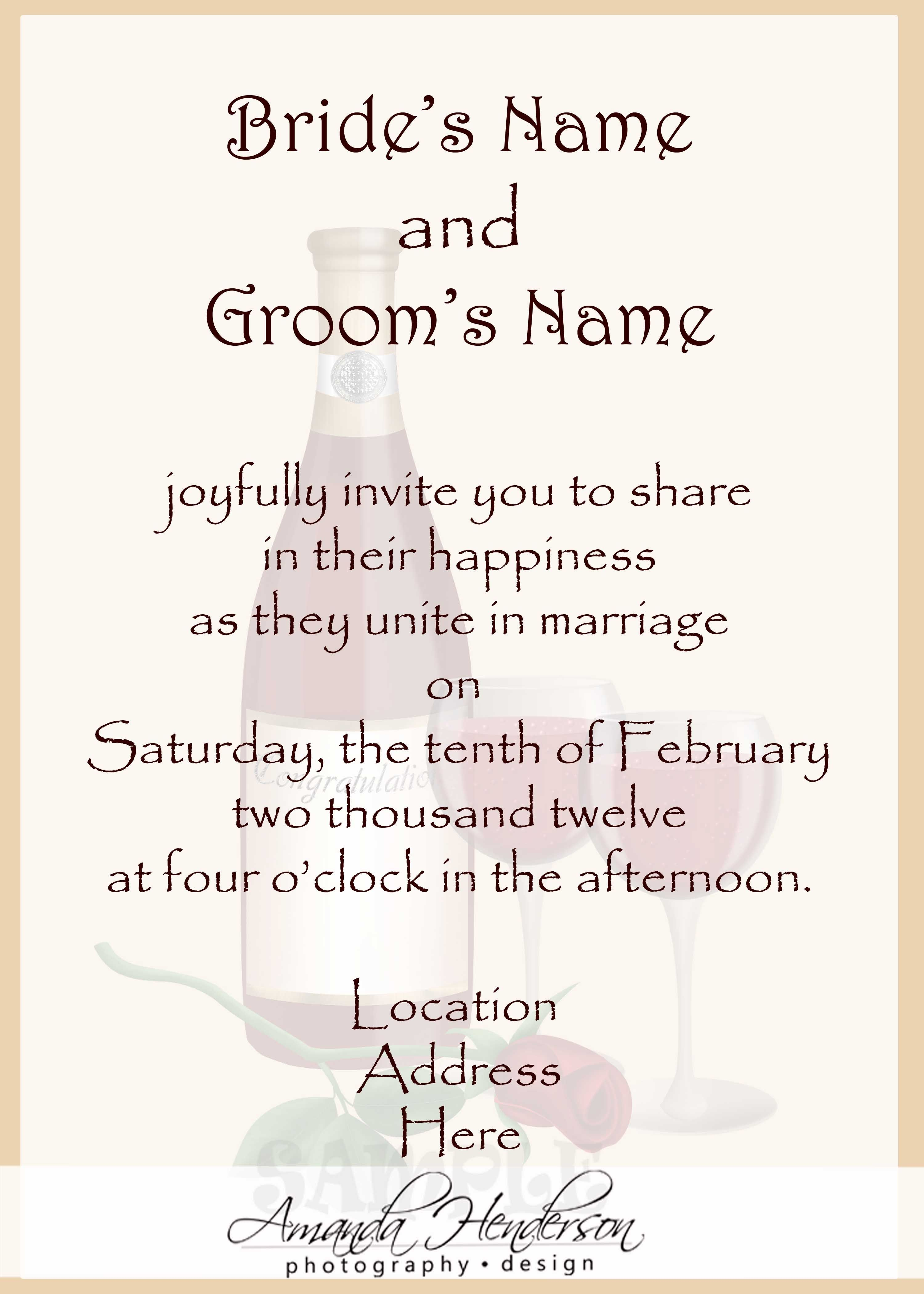 awesome Create Easy Wedding Invitations in Spanish Check more at ...