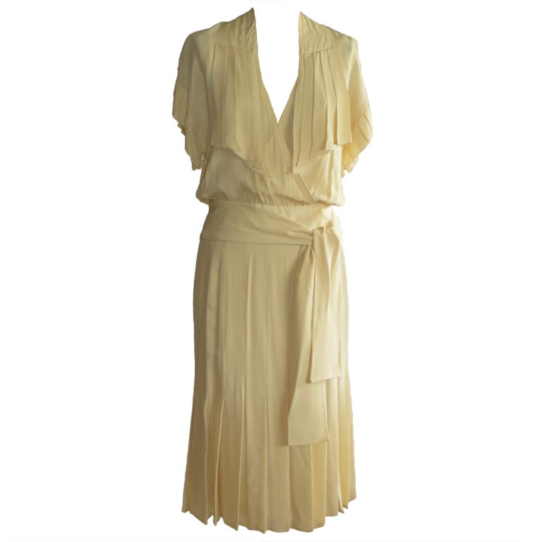 1stdibs.com   Karl Lagerfeld Chloe Silk  dress and silk slip