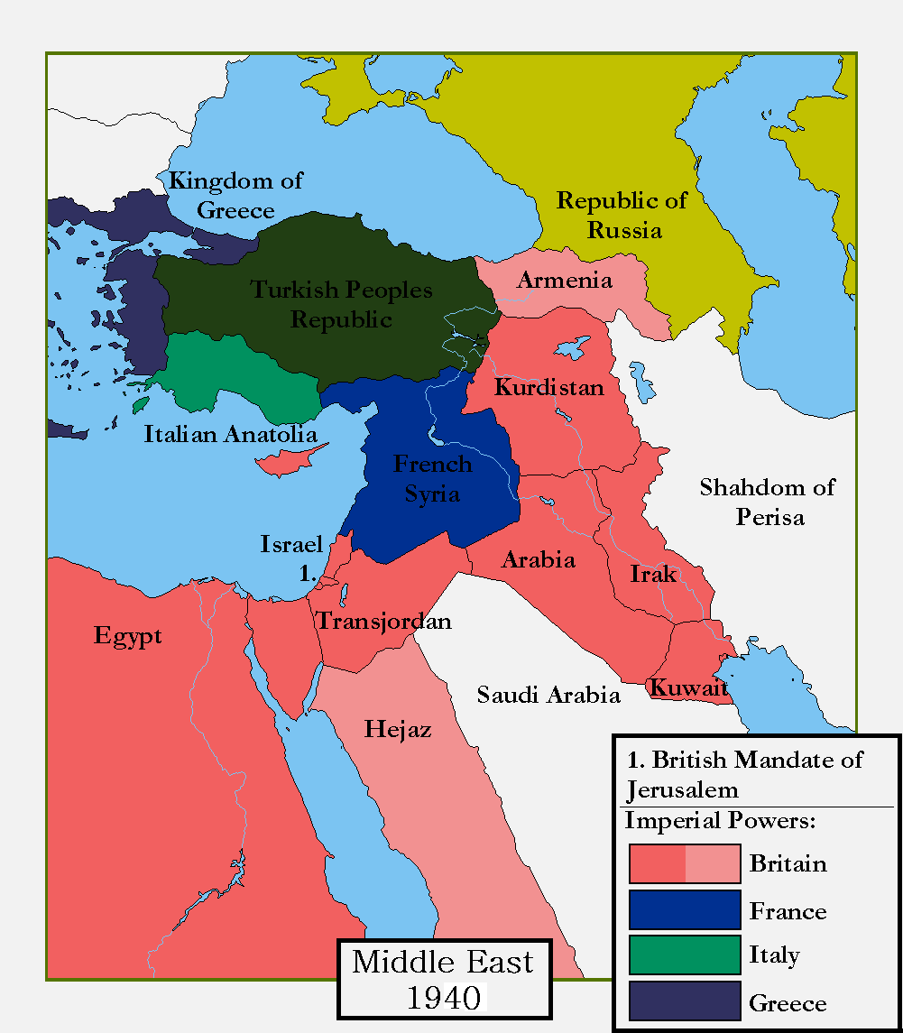 Middle East 1940