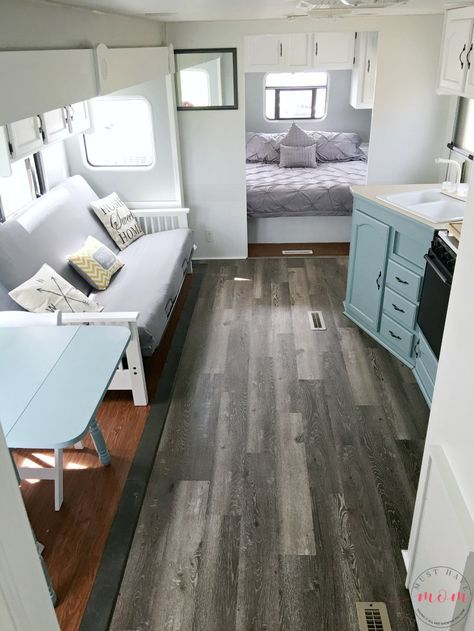 Easy RV Remodeling Instructions RV Makeover REVEAL Airstream Impressive Airstream Interior Design Painting