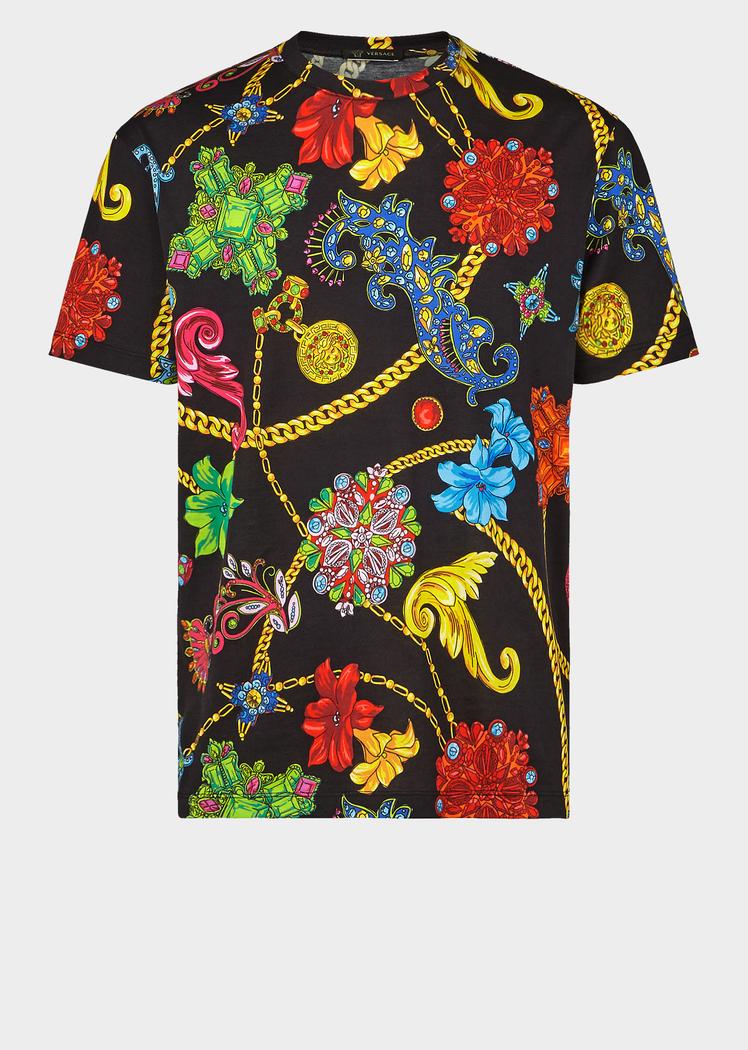 Gioielleria Jetes Print T Shirt Print T Shirts Polos Mens Tshirts Print T Shirt Tshirt Print