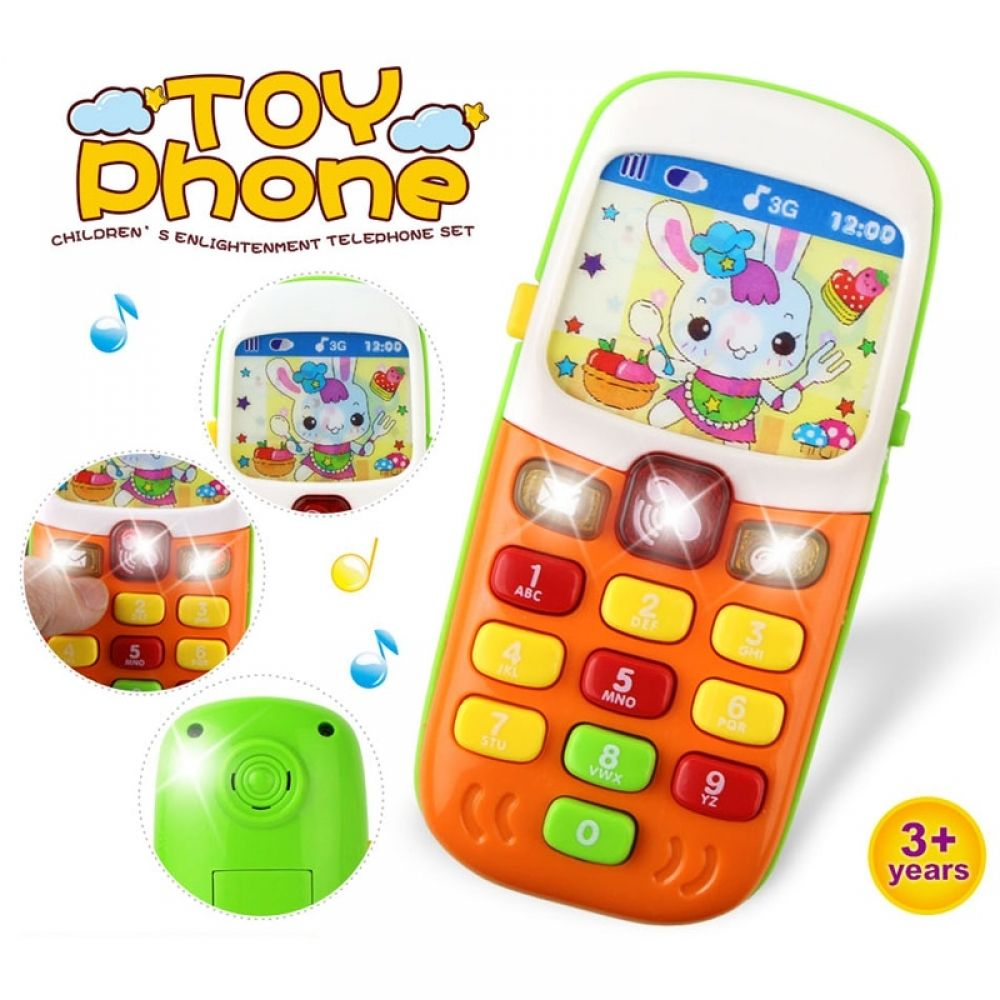 Electronic Toy Phone For Kids Baby Mobile Phone - Electronic Crib Mobile