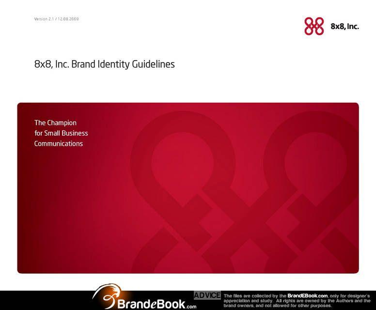 8x8 Inc Brand Identity Guidelines Pdf Brand Identity Guidelines