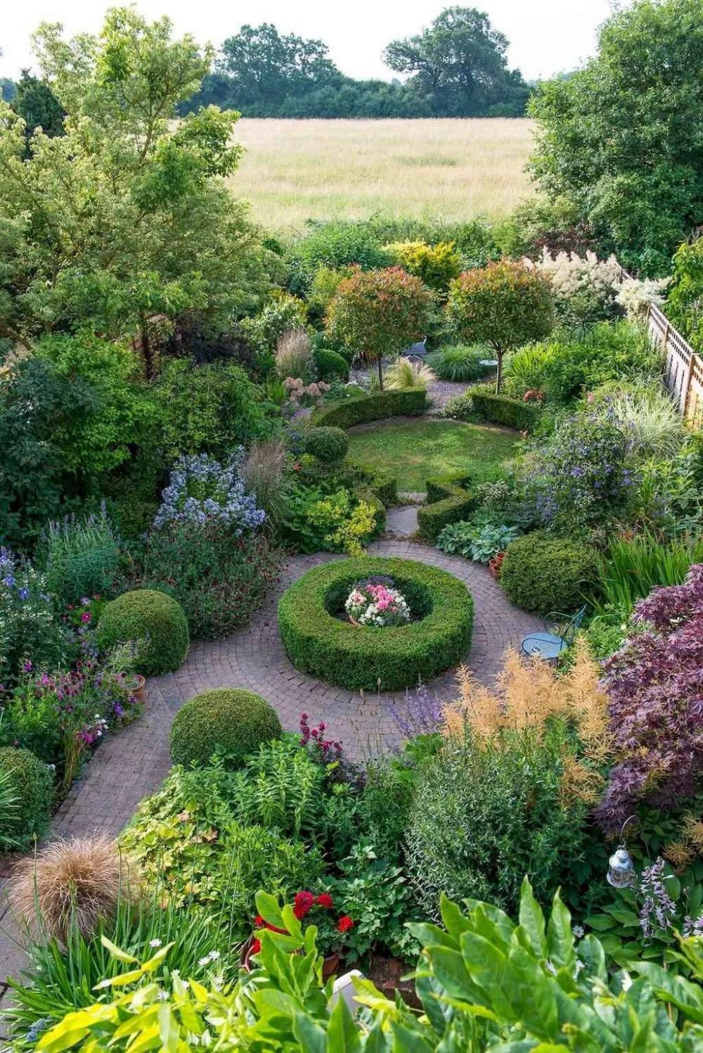 14 beautiful front yard cottage garden landscaping ideas on most beautiful backyard landscaping ideas id=18320