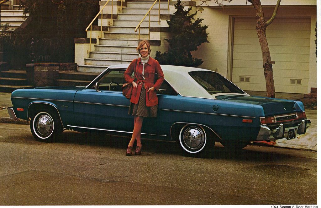 1974 Plymouth Scamp 2 Door Hardtop Plymouth Scamp Plymouth American Classic Cars