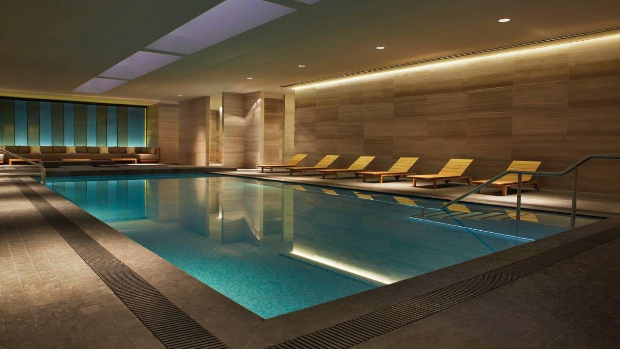 Toronto Luxury Hotel Photos Videos Four Seasons Hotel Pool Luxury Indoor Pool