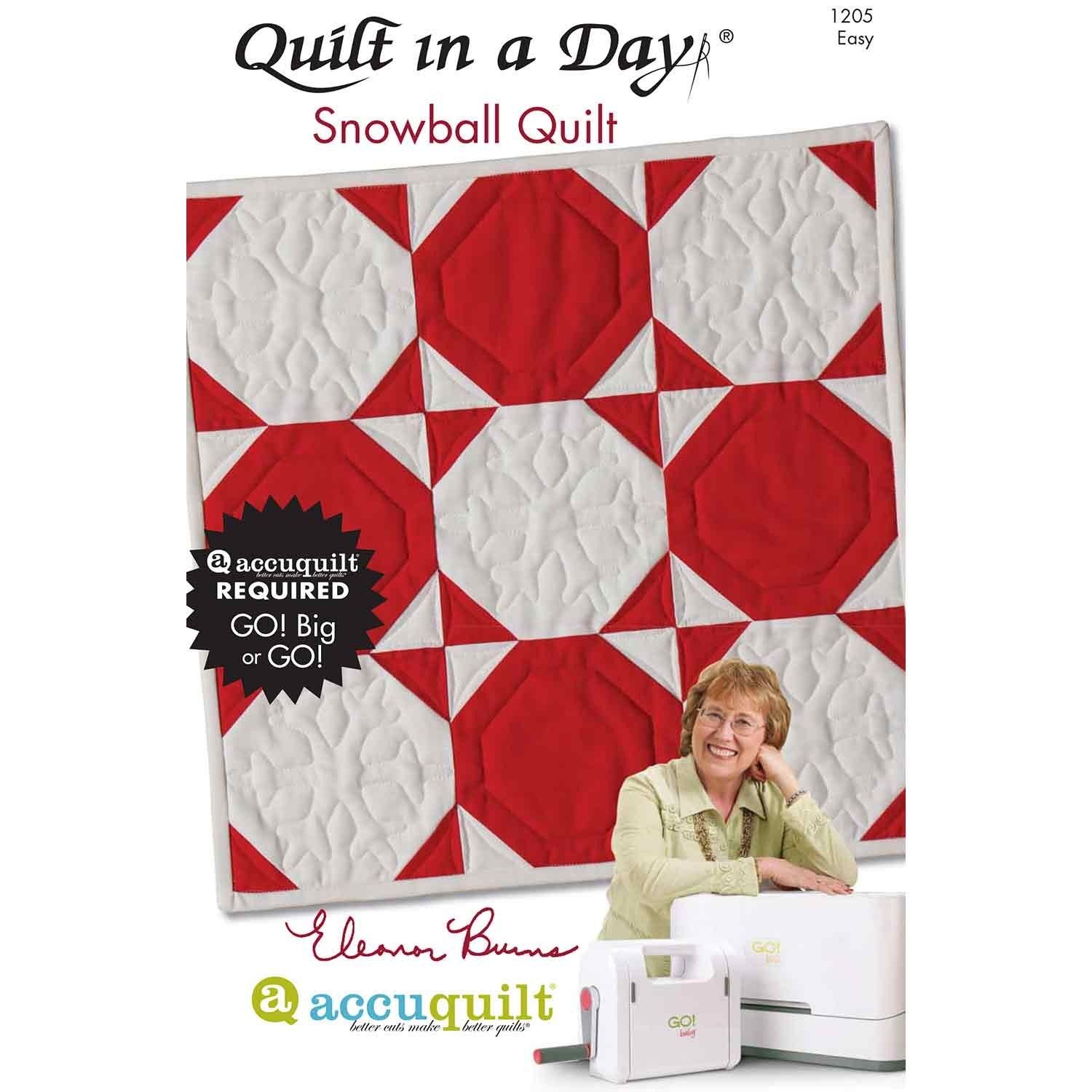 Get a FREE Eleanor Burns Pattern | Quilting | Pinterest | Snowball ... : quilt in a day patterns free - Adamdwight.com